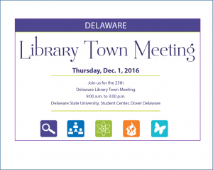 "Register now to attend the December 1 Library Town Meeting ""Transitions and Transformation""!"