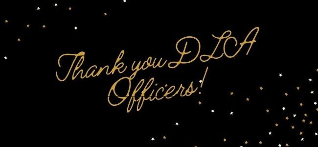Thank you DLA Officers