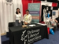 DLA President, Alison Wessel and Margie Cyr, Director of Dover Public Library, representing the Delaware Library Association at ALA in 2019.